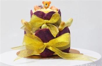双层紫薯慕斯蛋糕