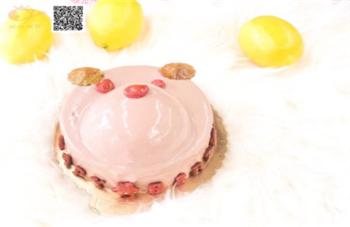 小熊熊双层慕斯蛋糕
