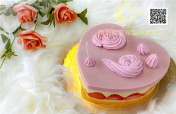 草莓少女心蛋糕